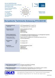 Europäische Technische Zulassung ETA-08/0188 - bei Powers ...