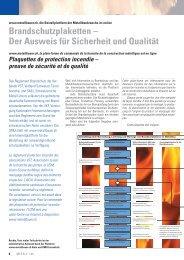 Brandschutz-Artikel