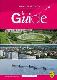 Guide la ville - Ville de Viry-chatillon