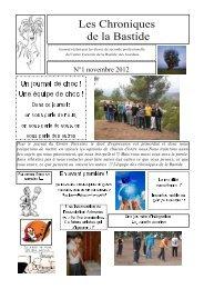 Télécharger le numéro de novembre 2012 - Le Centre Forestier de ...