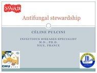 Antifungal stewardship