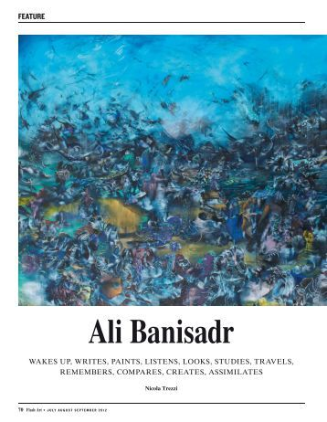 """Ali Banisadr"", Flash Art International Magazine"