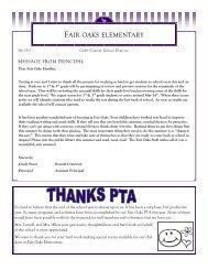 FAIR OAKS ELEMENTARY - Cobb County School District