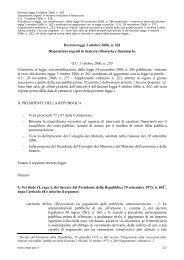 DL 3 ott 2006, n. 262 - DigitPA