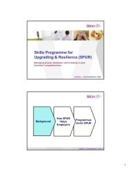 Skills Programme for Upgrading & Resilience (SPUR) - Singapore ...