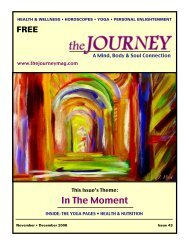 November-December 2008 - The Journey Magazine