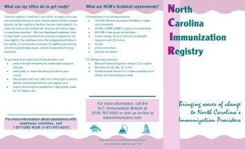What is the NCIR? - Immunization Branch