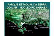 Núcleo Picinguaba - Reserva da Biosfera da Mata Atlântica