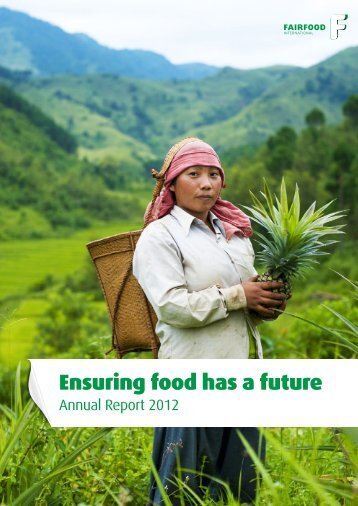Annual Report 2012 - Fairfood International