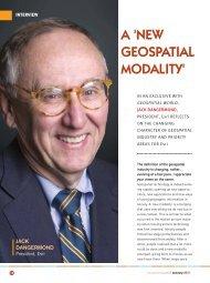 A 'NEW GEOSPATIAL MODALITY' - GeoSpatialWorld.net