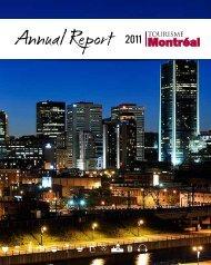 Tourisme Montréal | Annual report 2011 - Tourism Montreal