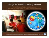 Design for a Global Network by Randy Fielding - The Hawaii ...