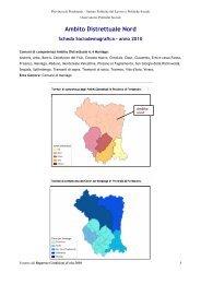 Ambito Distrettuale Nord - Provincia di Pordenone