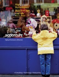 High Performance Acceleration: - Accenture