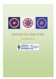 DOSSIER DE CABUYERÍA - Scouts Sant Yago