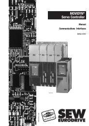 MOVIDYN® Servo Controller - SEW Eurodrive