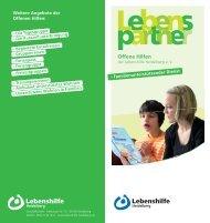 Flyer als PDF-Download - Lebenshilfe Heidelberg