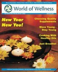 Sunday January 31, 2010 10:00 AM - World of Wellness magazine ...