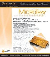 MicroTray sellsheet_43000B 09-10 copy - Synovis Micro ...