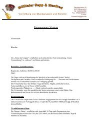 Engagement- Vertrag - Colist.eu