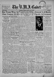 The Cadet. VMI Newspaper. November 12, 1935 - New Page 1 ...