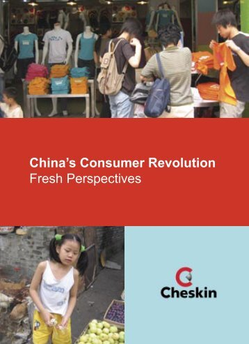 China's Consumer Revolution Fresh Perspectives - Added Value