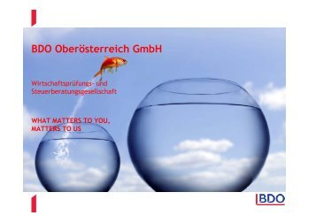 BDO Oberösterreich GmbH - HAK/HAS Traun