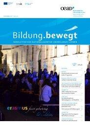 Newsletter 4/2012 - Nationalagentur Lebenslanges Lernen