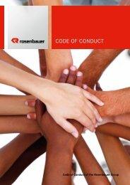 CODE OF CONDUCT - Rosenbauer