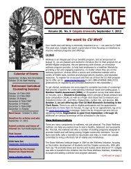 Open 'Gate - Colgate University