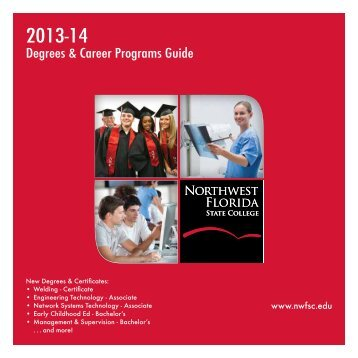 Degrees & Career Programs Guide - Northwest Florida State College