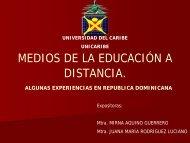Medios de la Educación a Distancia
