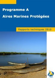rapport annuel - 2010 - Fondation Internationale du Banc d'Arguin
