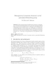 Homogeneous Lorentzian structures on the generalized Heisenberg ...
