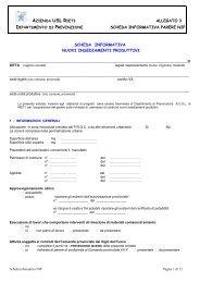 Scheda Informativa parere NIP (allegato 3) - Azienda USL Rieti