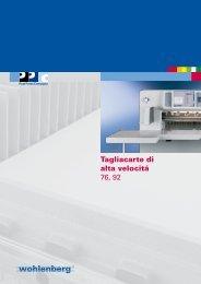 scarica la brochure w76 - Baumann Italia