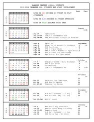 2013-2014 Calendar - Hamburg Central School District