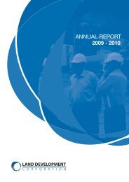 annual report - Land Development Corporation - Northern Territory ...
