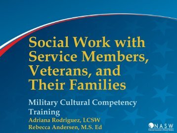 Military Cultural Competency - National Association of Social Workers