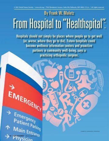 By Frank W. Maletz - Healthspital.com