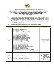tawaran biasiswa jabatan perkhidmatan awam bagi mengikuti - JPA