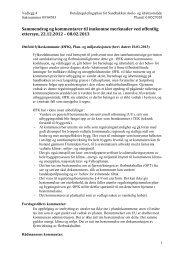 Innkomne merknader med kommentarer - Sarpsborg kommune