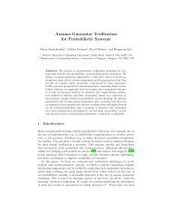 Assume-Guarantee Verification for Probabilistic Systems