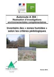 Autoroute A 304 : Inventaire des Â« zones humides ... - Webissimo