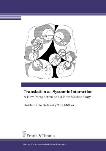 Frank & Timme Translation as Systemic Interaction - Prof. Dr ...