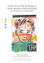Théâtre Jeune Public de Strasbourg Centre Dramatique National d ...