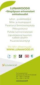 Sinne missä puulta vaaditaan enemmän (PDF) - Lunawood - Page 6