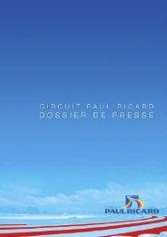 Dossier de presse - Paul Ricard
