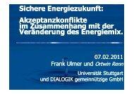 Sichere Energiezukunft