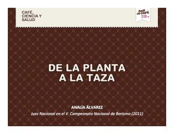 11-07-26 Presentación Analía Álvarez - Café, Ciencia y Salud